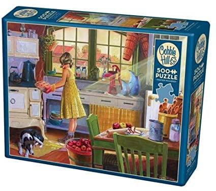 Apple Pie Kitchen 500pc Cobble Hill Jigsaw Puzzle