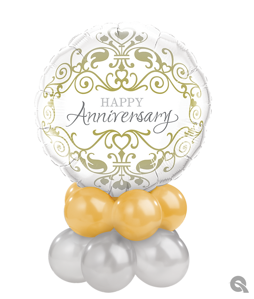 Happy Anniversary Table Topper