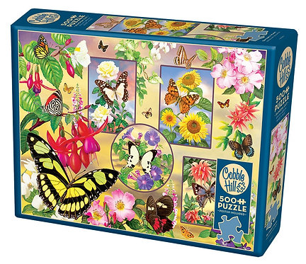 Butterfly Magic 500pc Cobble Hill Jigsaw Puzzle