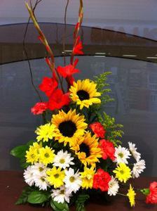 Sunflower Sunset Arrangement
