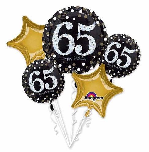 Super Fun Foil Bouquet - Sparkling 65