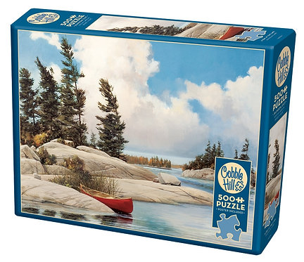 A Day at the Lake 500pc Cobble Hill Jigsaw Puzzle