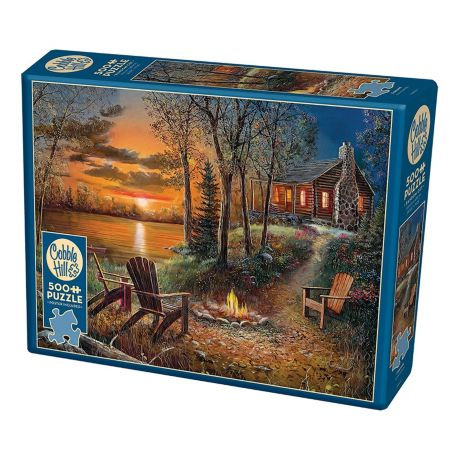 Fireside 500pc Cobble Hill Jigsaw Puzzle