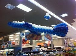 Jumbo Jet Balloon Sculpture
