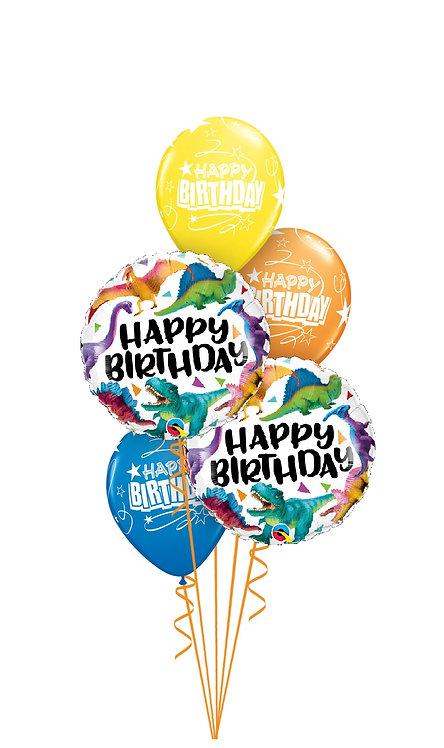 Classic Balloon Bouquet - Dino-mite Birthday