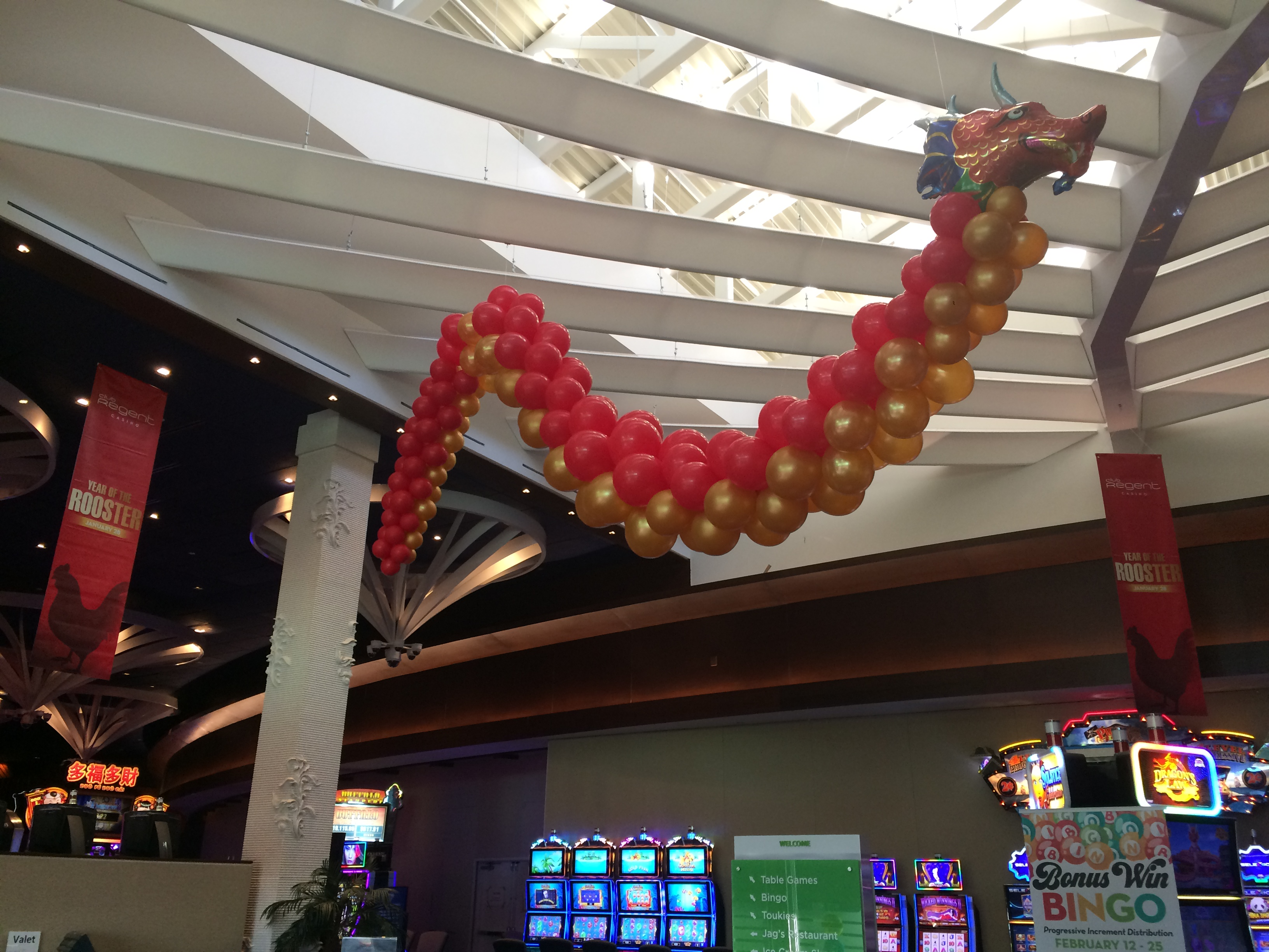 20' Balloon Dragon Sculpture