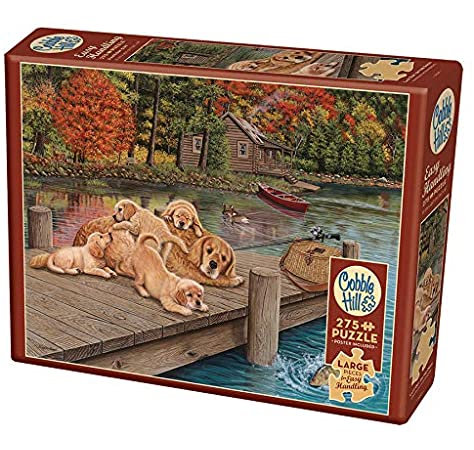 Lazy Day on the Dock 275pc Cobble Hill Jigsaw Puzzle