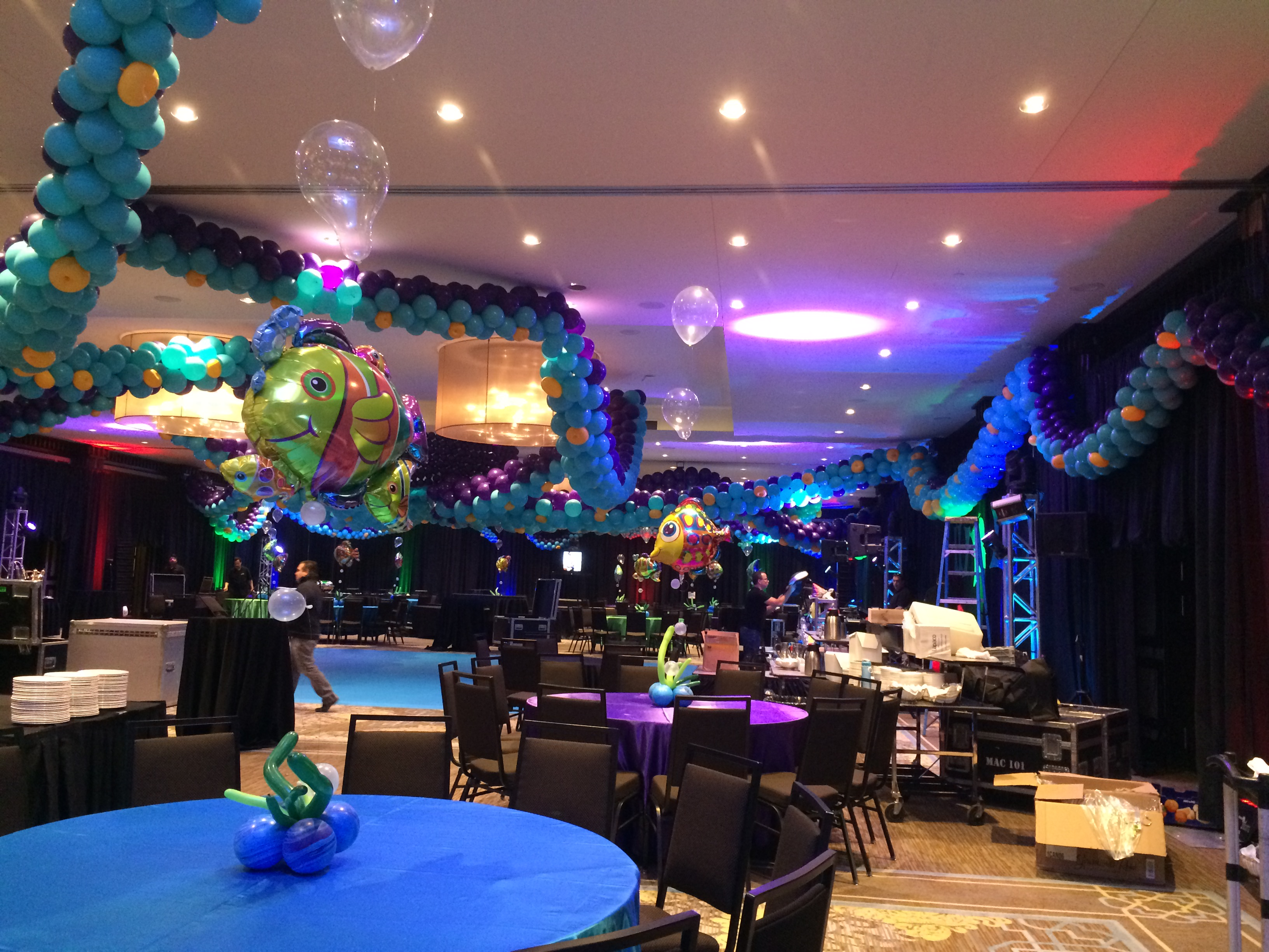 Under the Sea Balloon Decor