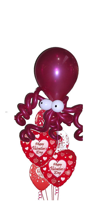 Octopi My Heart Bouquet