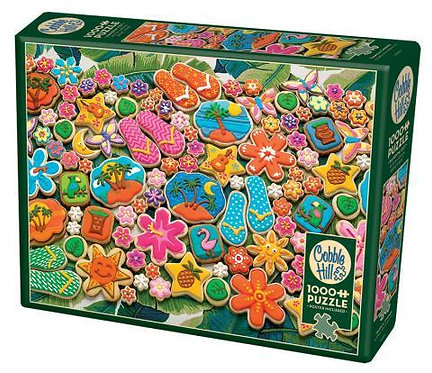 Tropical Cookies 1000pc Cobble Hill Jigsaw Puzzle