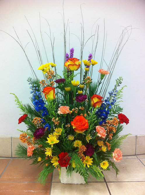 Colours of Sunset Arrangement
