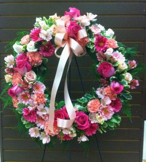 Cherished Memories Standing Wreath