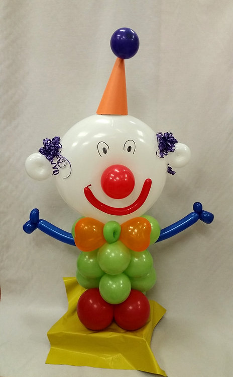 Clown Balloon Buddy