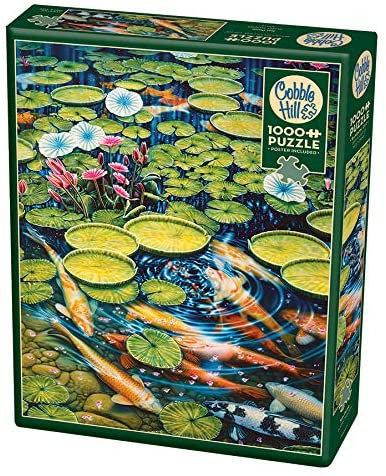 Koi Pond 1000pc Cobble Hill Jigsaw Puzzle