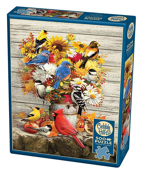 Fall Harvest 500pc Cobble Hill Jigsaw Puzzle