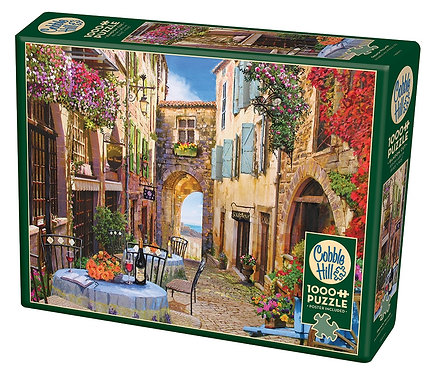 French Village 1000pc Cobble Hill Jigsaw Puzzle