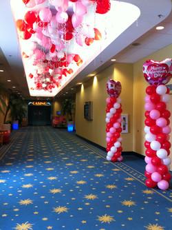 Valentine's Day Balloon decor