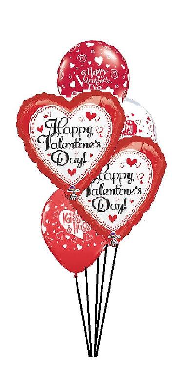 Classic Balloon Bouquet - Valentine
