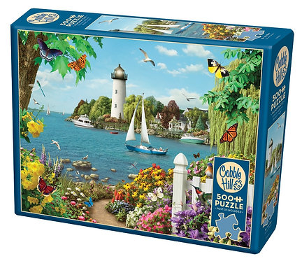 By the Bay 500pc Cobble Hill Jigsaw Puzzle