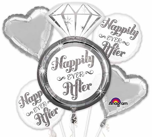 Super Fun Foil Bouquet - Happily Ever After