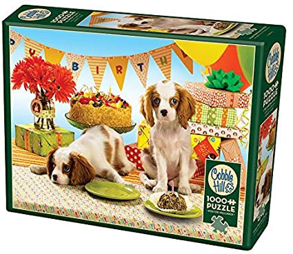 Every Dog Has Its Day 1000pc Cobble Hill Jigsaw Puzzle