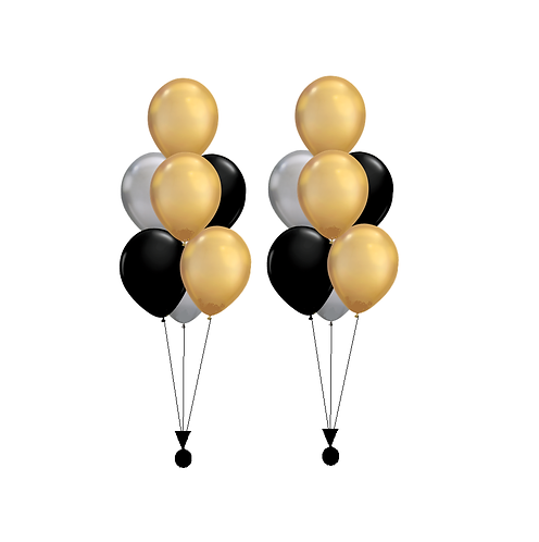 Two Bouquets of Seven Latex Balloons