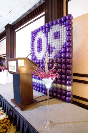 Balloon wall 2009