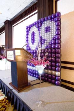 Balloon wall 2009