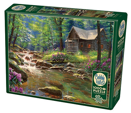 Fishing Cabin 1000pc Cobble Hill Jigsaw Puzzle