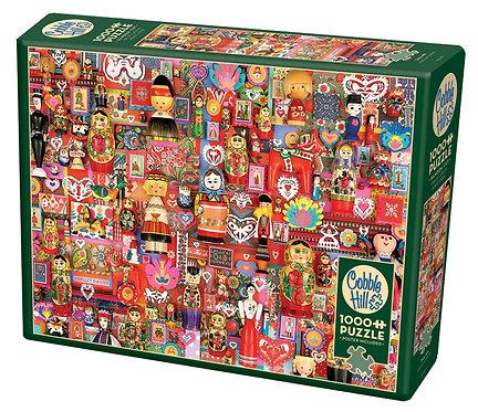 Dollies 1000pc Cobble Hill Jigsaw Puzzle