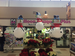 Snowmen Balloons