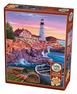 Lighthouse Cove 275pc Cobble Hill Jigsaw Puzzle