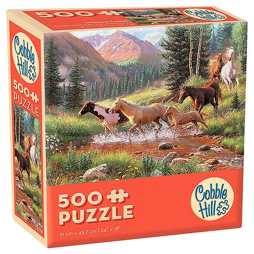 Mountain Thunder 500pc Cobble Hill Jigsaw Puzzle
