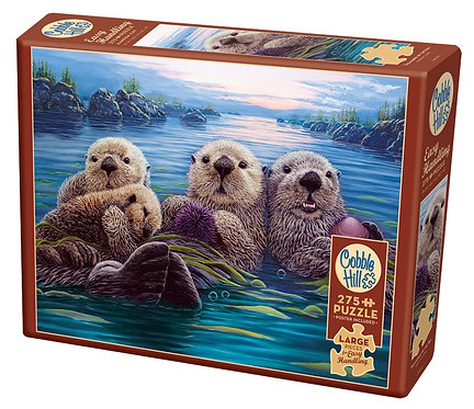 Treasures of the Sea 275pc Cobble Hill Jigsaw Puzzle
