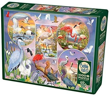 Waterbird Magic 1000pc Cobble Hill Jigsaw Puzzle