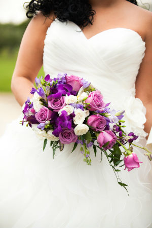 Bride's Bouquet - Teardrop