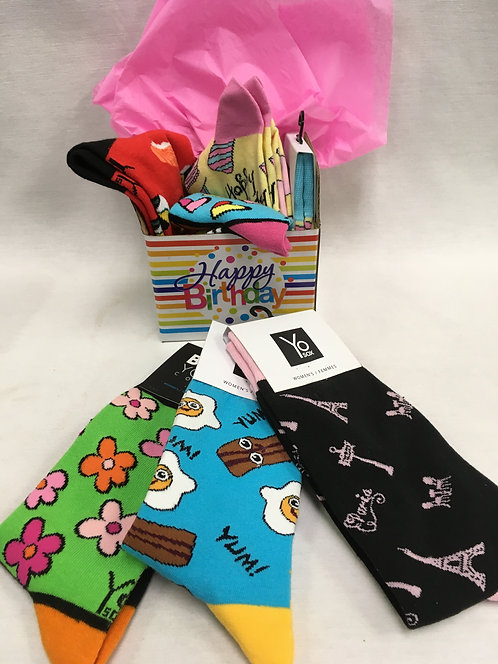 Box of Yo Sox - Women's Socks