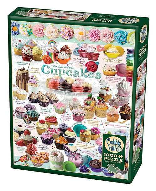 Cupcake Time 1000pc Cobble Hill Jigsaw Puzzle