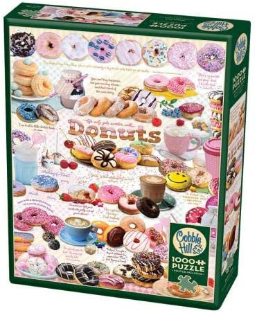 Donut Time 1000pc Cobble Hill Jigsaw Puzzle