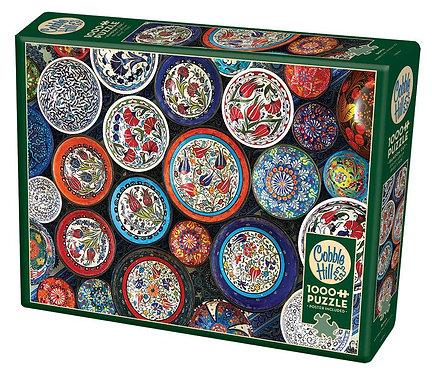 Bowls 1000pc Cobble Hill Jigsaw Puzzle