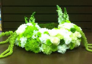 Angel's Hug Urn Wreath