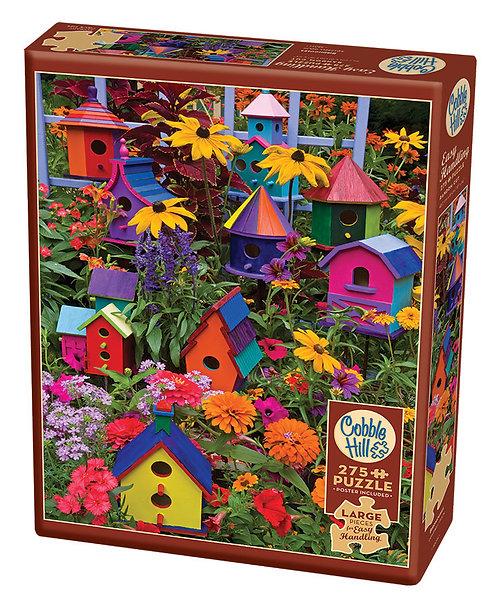 Birdhouses 275pc Cobble Hill Jigsaw Puzzle