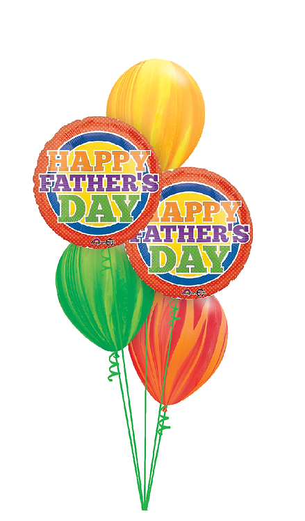 Classic Balloon Bouquet - Happy Father's Day Patterns