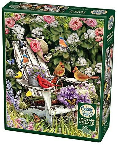 Summer Adirondack Birds 1000pc Cobble Hill Jigsaw Puzzle