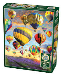 Hot Air Balloons 1000pc Cobble Hill Jigsaw Puzzle
