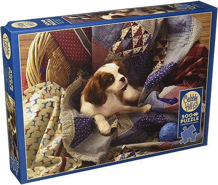 Laundry Day 500pc Cobble Hill Jigsaw Puzzle