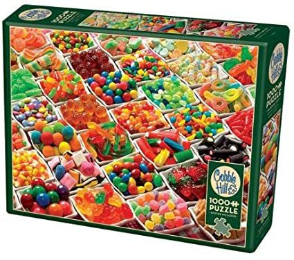 Sugar Overload 1000pc Cobble Hill Jigsaw Puzzle