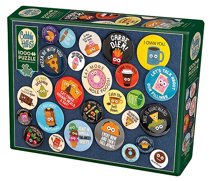 Buttons  1000pc Cobble Hill Jigsaw Puzzle