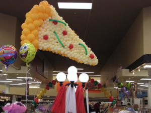 Pizza Balloon Sculpture