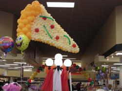 Pizza Balloon Sculpture